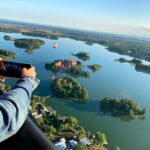 Perfect shot of Trakai Lake Castle